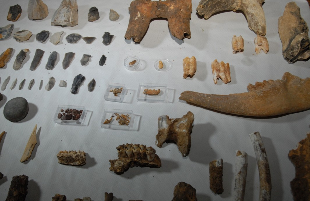 Imagen de los restos de los nuevos descubrimientos