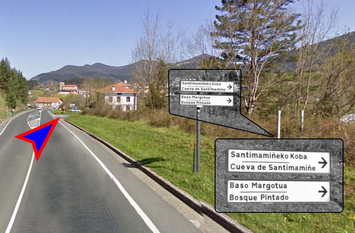 Como llegar a Santimamiñe