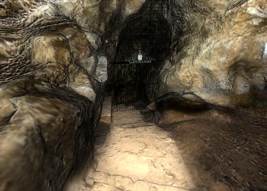 Imagen de la entrada de la visita virtual a la cueva de santimamiñe