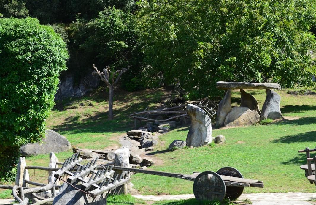 Parque en Santimamiñe