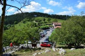 Vistas de Lezika desde Santimamiñe